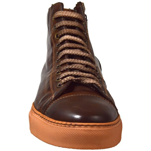 Samantha Dip Dyed Brown High Top Sneaker  thumb #2
