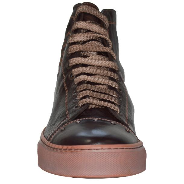 Misty Dip Dyed Brown High Top Sneaker thumb #2