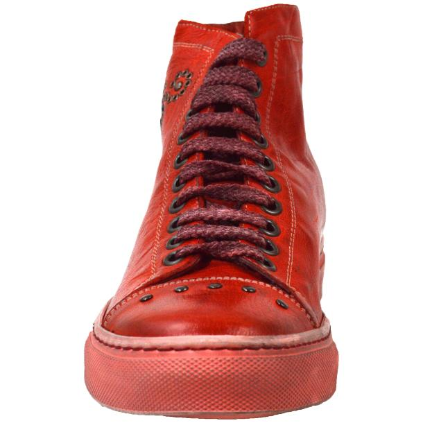 Misty Dip Dyed Red High Top Sneaker thumb #2