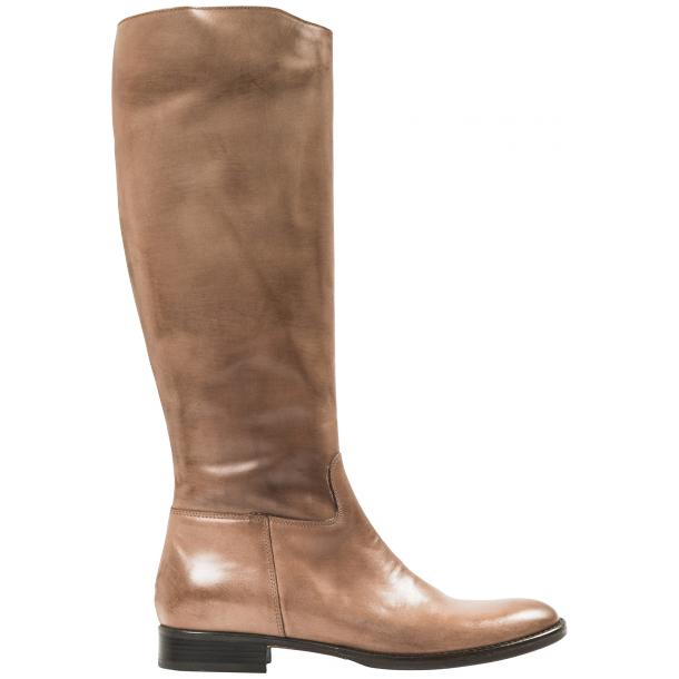 Rita Taupe Nappa Leather Classic Tall Riding Boots thumb #4