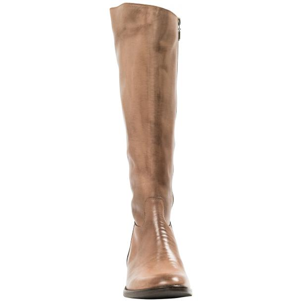 Rita Taupe Nappa Leather Classic Tall Riding Boots thumb #5