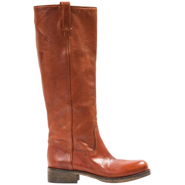 "Arya Light Brown ""Cuoio"" Nappa Leather Tall Boots thumb #4"