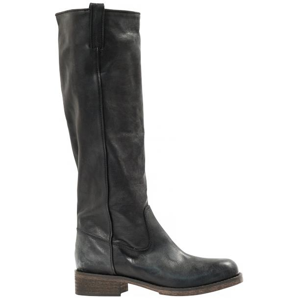 "Arya Black ""Nero"" Nappa Leather Tall Boots thumb #4"