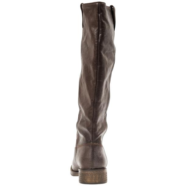 "Arya Dark Brown ""Moro"" Nappa Leather Tall Boots thumb #3"