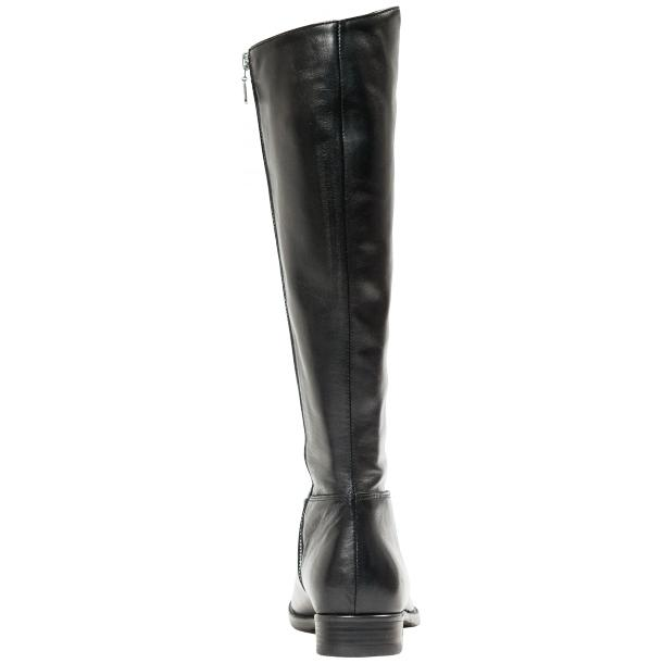"Rita Black ""Nero"" Nappa Leather Classic Tall Riding Boots thumb #5"