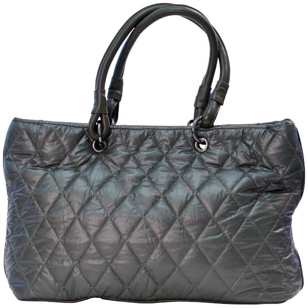 Lily Silver Quilted Totebag thumb #4