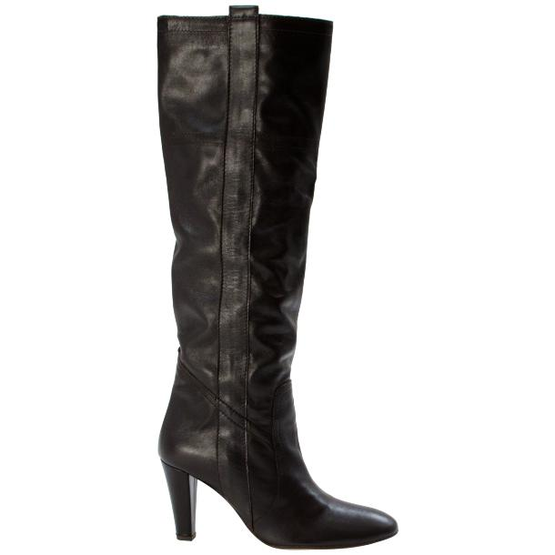 Zena Above the Knee Slip-On Boots Black thumb #3