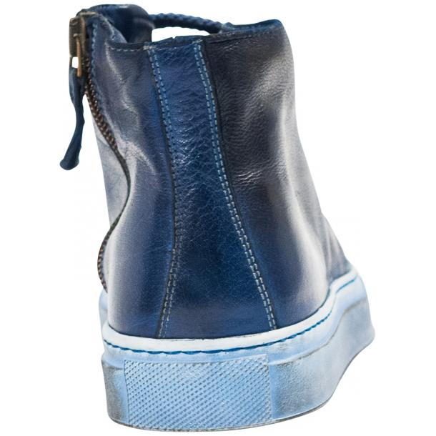 Penny Dip Dyed Indigo Blue High Top Sneaker  thumb #5