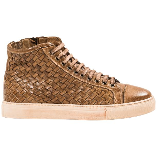 Cole Dip Dyed Moor Hand Woven High Top Sneakers thumb #4