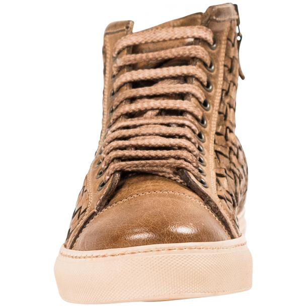 Cole Dip Dyed Moor Hand Woven High Top Sneakers thumb #3