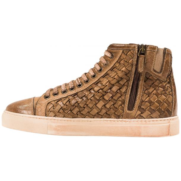 Cole Dip Dyed Moor Hand Woven High Top Sneakers thumb #5