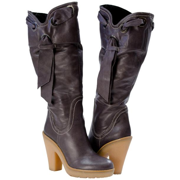 Laura The City- Friend Boot - Grey full-size #1