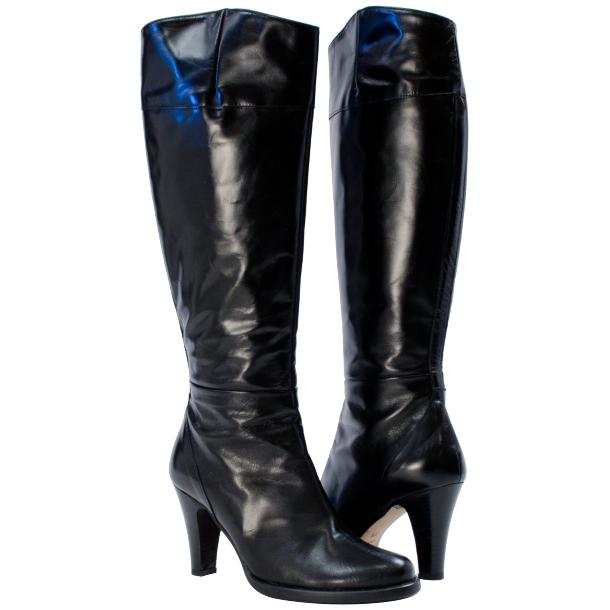 Miriam Knee-high Boot Black full-size #1