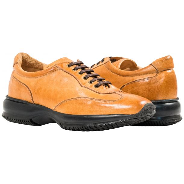 Misha Brick Nappa Leather Rubber Sole Sneaker Shoes full-size #1