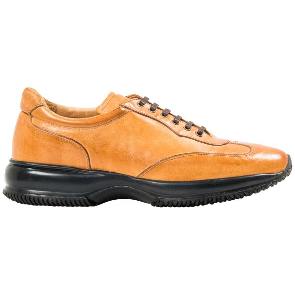 Misha Brick Nappa Leather Rubber Sole Sneaker Shoes thumb #4