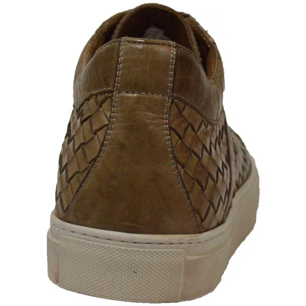 Tyler Dip Dyed Rope Woven Sneakers Tan full-size #4