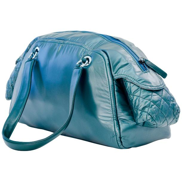 Bisou Sky Blue Handbag full-size #1
