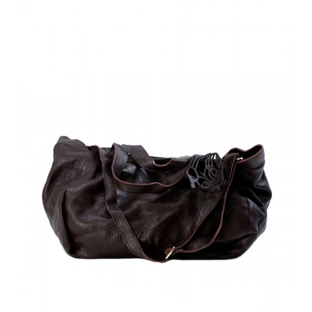 Hayes Valley Hipster Brown Handle and Shoulder Bag full-size #1