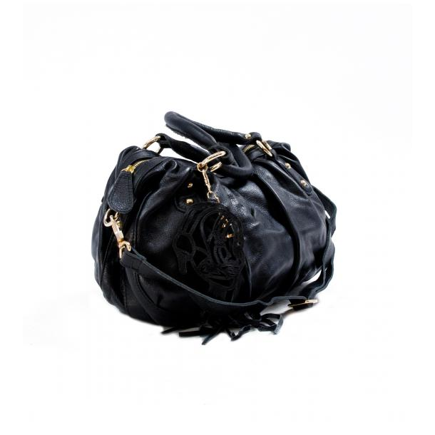 Marina Black Handle and Shoulder Bag thumb #2