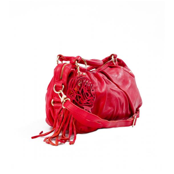 Marina Red Handle and Shoulder Bag thumb #2