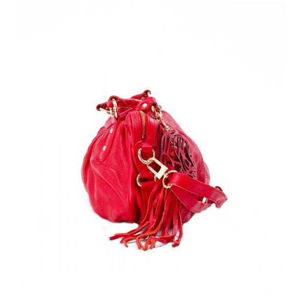 Marina Red Handle and Shoulder Bag thumb #3