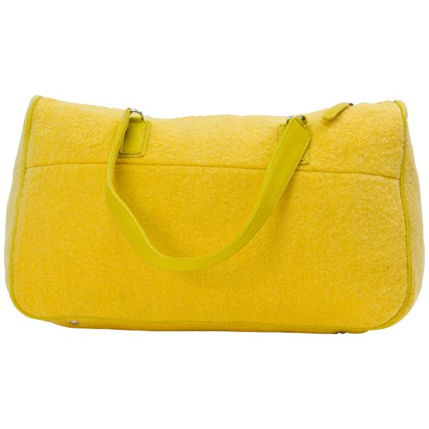 Celine Yellow Tote Handbag full-size #4