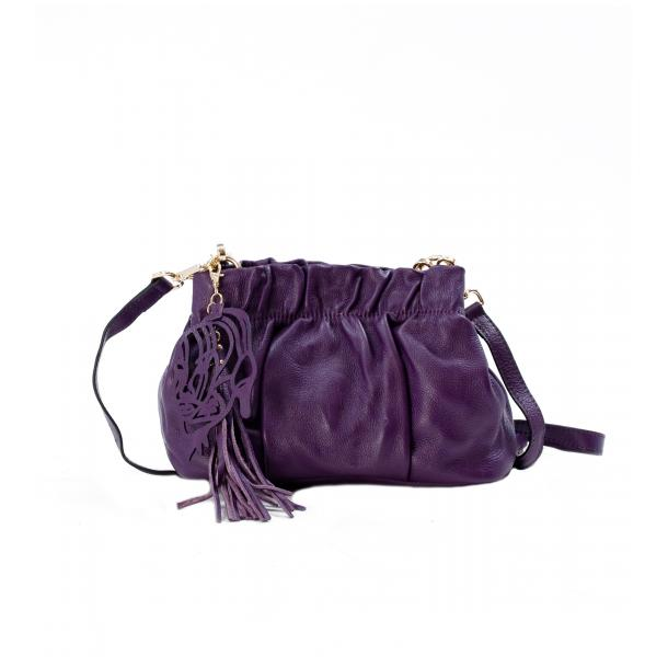 Golden Gate Park Purple Handle and Shoulder Bag thumb #1