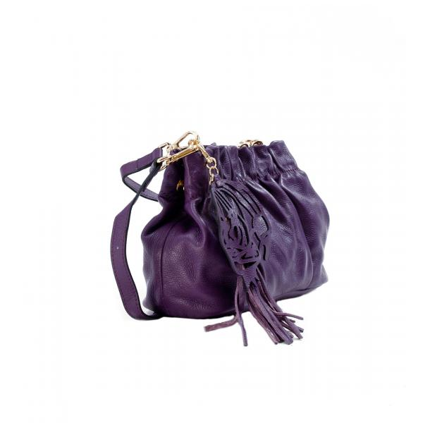 Golden Gate Park Purple Handle and Shoulder Bag thumb #4