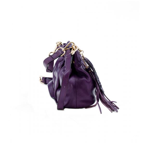Golden Gate Park Purple Handle and Shoulder Bag thumb #2