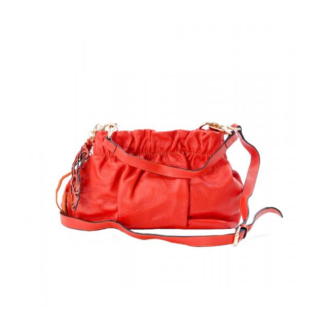 Golden Gate Park Orange Handle and Shoulder Bag full-size #1