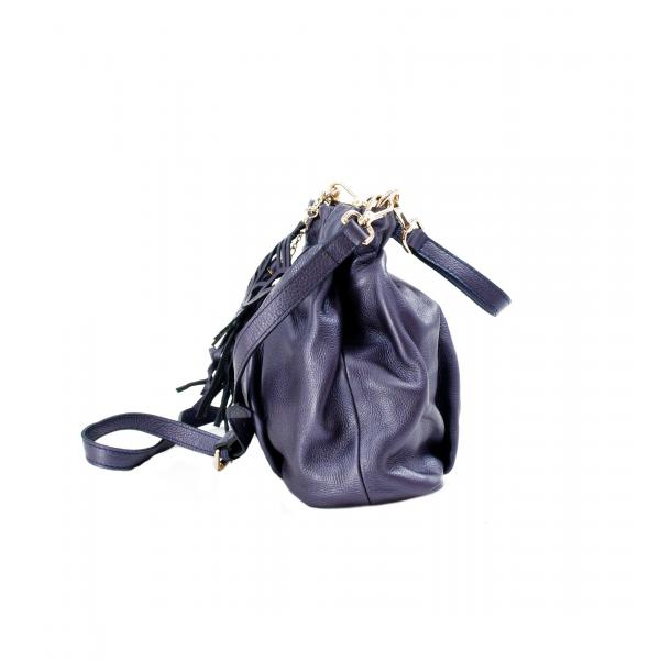 In The Mission Blue Pearl Shoulder Bag thumb #2