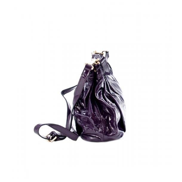 In The Mission Purple Patent Leather Shoulder Bag thumb #2