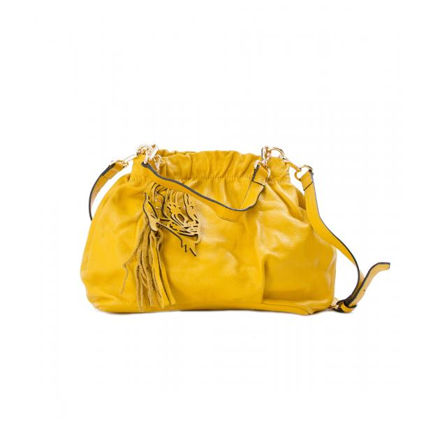 In The Mission Yellow Shoulder Bag full-size #1