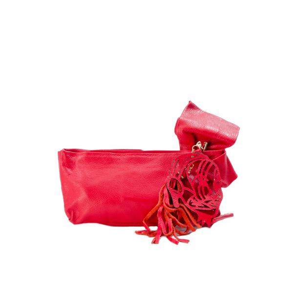 Haight-Ashbury Red Clutch full-size #2
