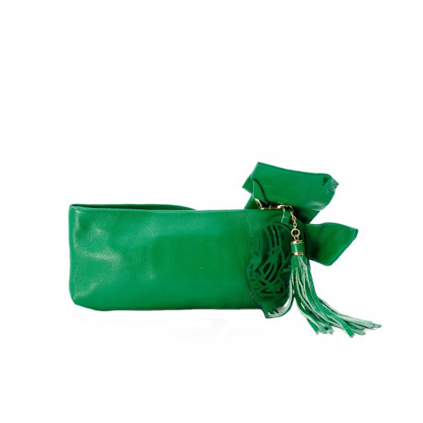 Haight-Ashbury Green Clutch thumb #2
