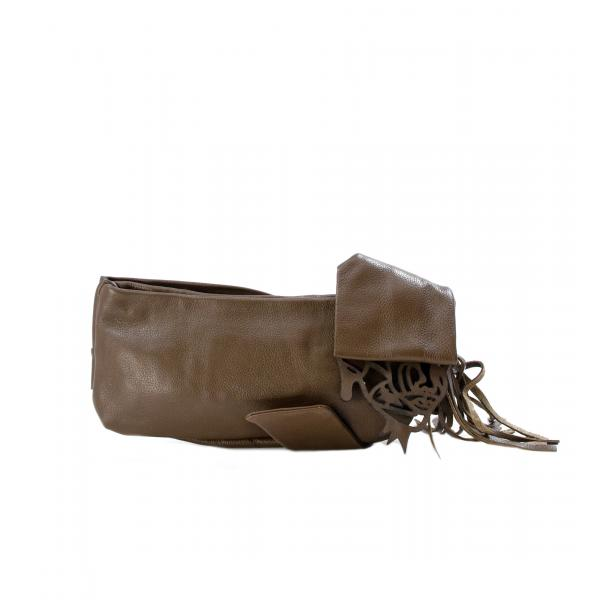 Haight-Ashbury Khaki Clutch thumb #2