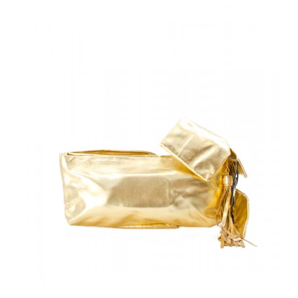 Haight-Ashbury Gold Clutch thumb #2