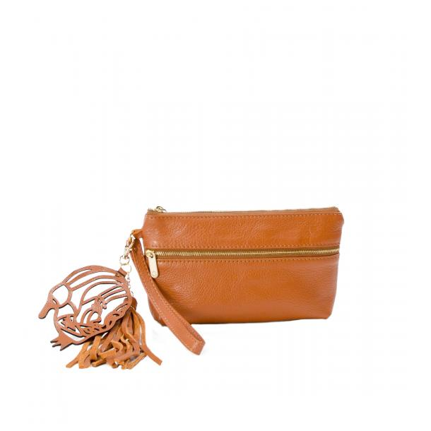 SOMA Tan Clutch full-size #1