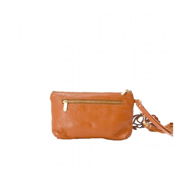 SOMA Tan Clutch full-size #2