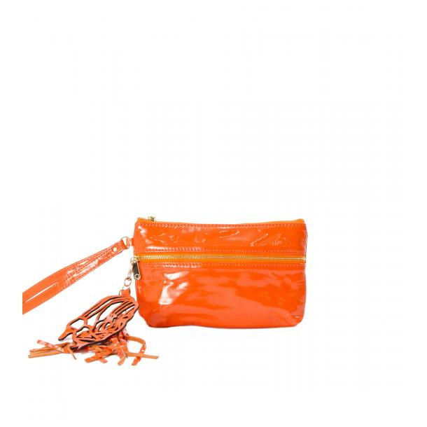 SOMA Patent Orange Clutch full-size #1