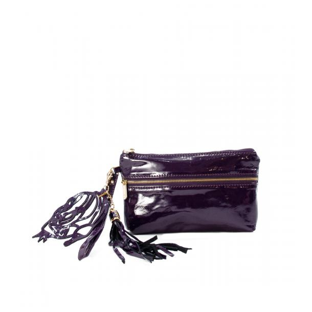 SOMA Patent Purple Clutch full-size #1