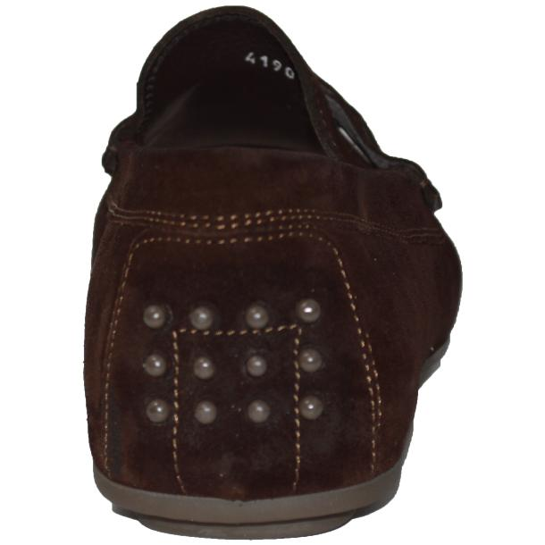 Dino Chocolate Brown Suede Driver Loafers  thumb #4