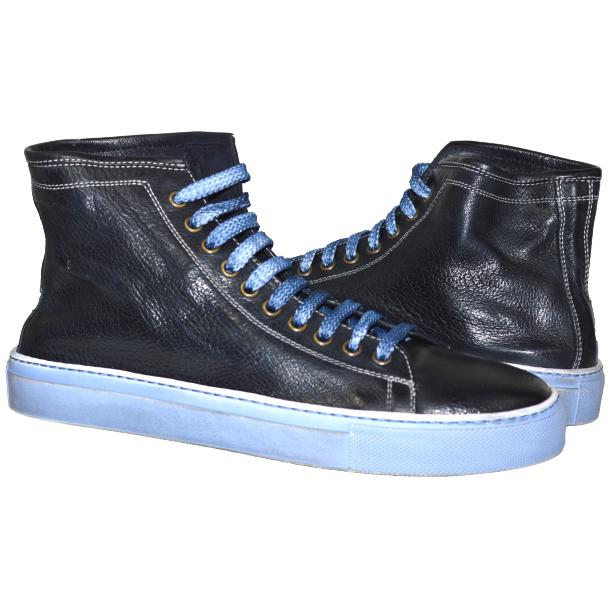 Heidi Dip Dyed Navy Blue High Top Sneaker  full-size #1