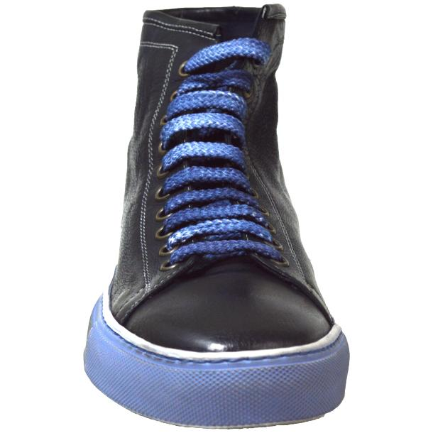 Heidi Dip Dyed Navy Blue High Top Sneaker  thumb #2