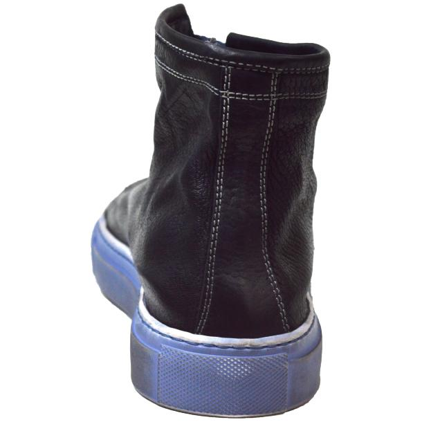 Heidi Dip Dyed Navy Blue High Top Sneaker  thumb #4