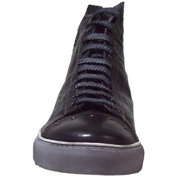 San Siro Dip Dyed Stone Grey High Top Sneaker full-size #2