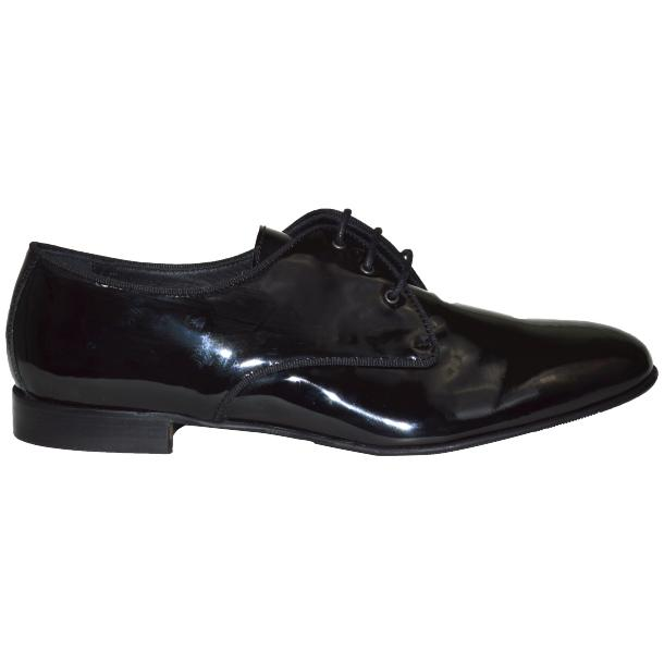 Dakota Dip Dyed Black Leather Oxford Lace Up Shoes thumb #3