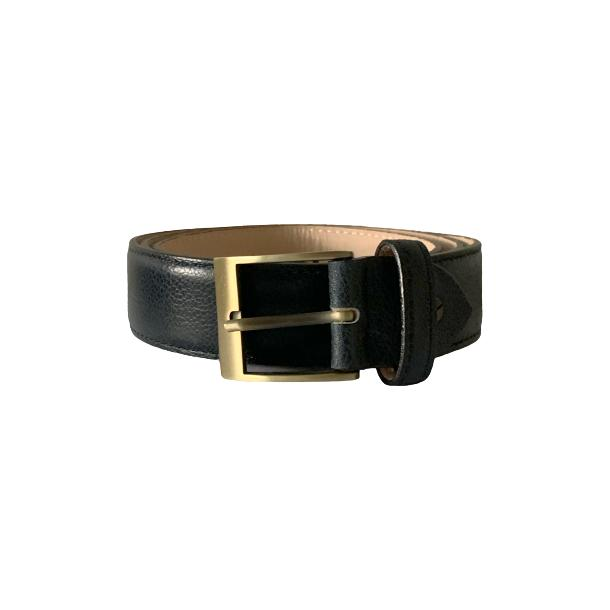 Leather Navy Blue Belt thumb #1