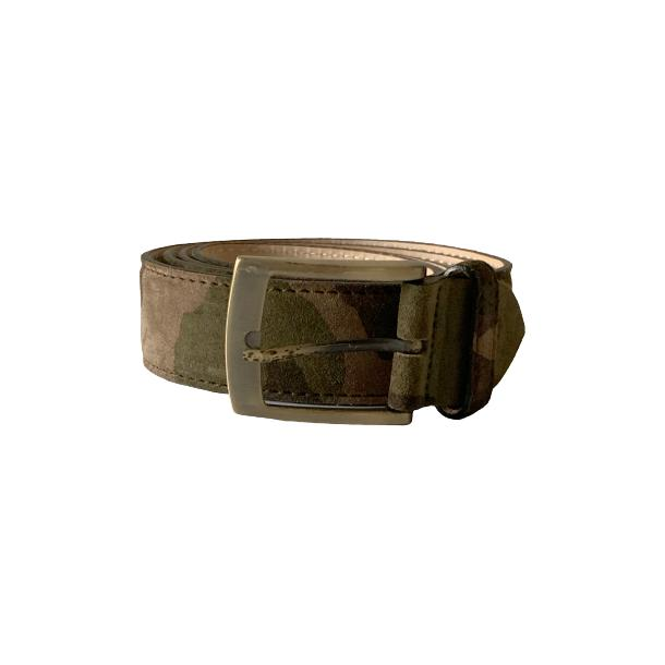 Suede Camouflage Belt full-size #1
