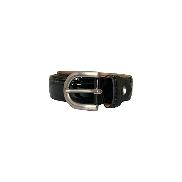 Patent Leather Black Belt full-size #1